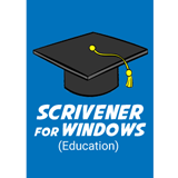 Scrivener Download for Windows Education Version