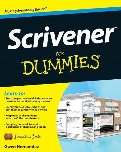 Buy Scrivener for Dummies Kindle Version on Amazon