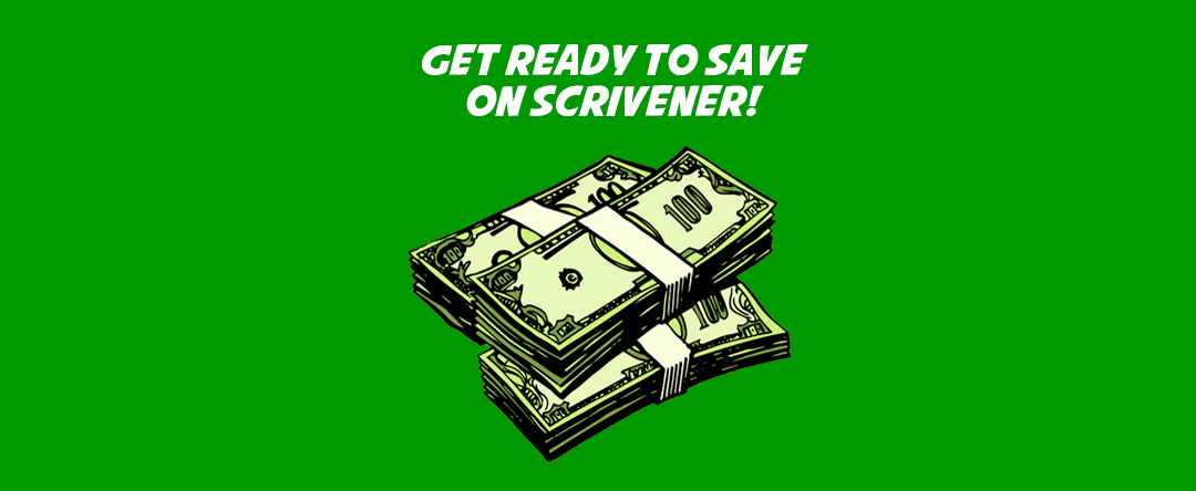 How much does scrivener cost